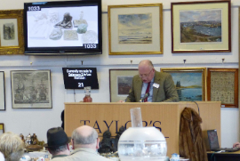Valuation of antiques by Taylors Auction Rooms, Montrose