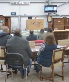 How to buy at an antiques auction house such as Taylors Auctions in Montrose