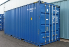 Self storage shipping container units at Taylors Auction Rooms at Angus Self Storage