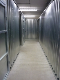 Self storage units at Taylors Auction Rooms at Angus Self Storage
